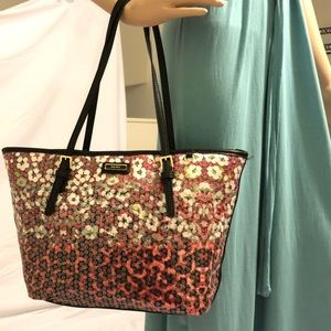 Completely new Nine West colorful tote style bag